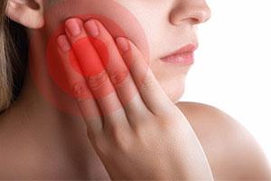 Schmerzpatienten beim Zahnarzt